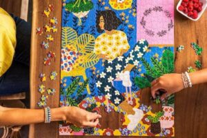 Just Chillin Jigsaw Puzzle Wander Puzzle Co.