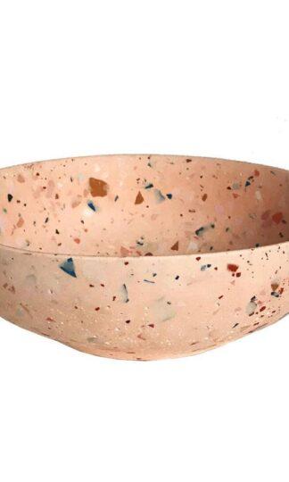 Rose Picasso Terrazzo Bowl by Les Pieds de Biche