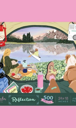 Reflection Jigsaw Puzzle Wander Puzzle Co.