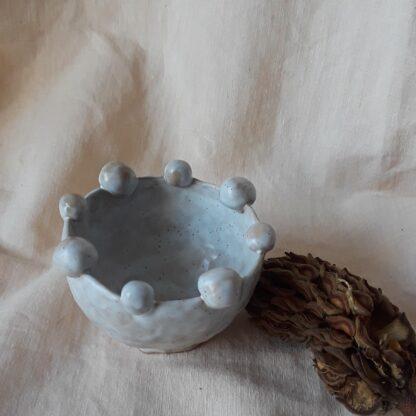 Balance Ball Pinch Pot by Curious Clay.