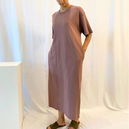 Over Sized T-Shirt Dress by A Mente.
