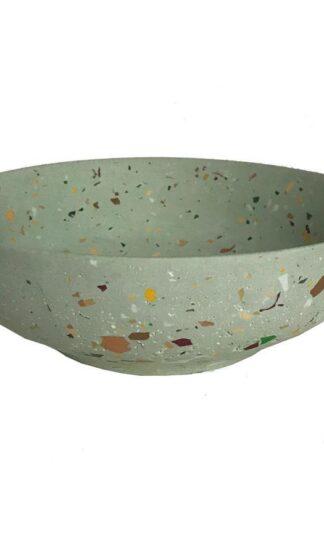 Green Van Gogh Terrazzo Bowl by Les Pieds de Biche