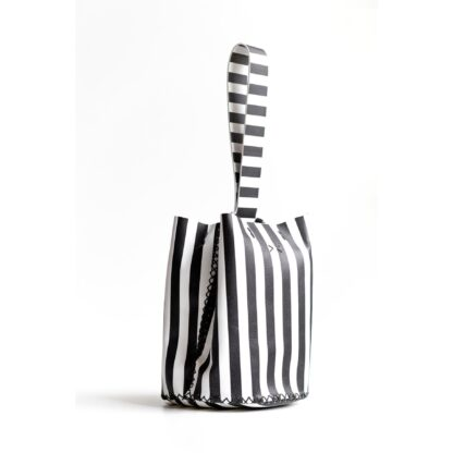 Navigli Stripes Wrist Bag Volta Atelier