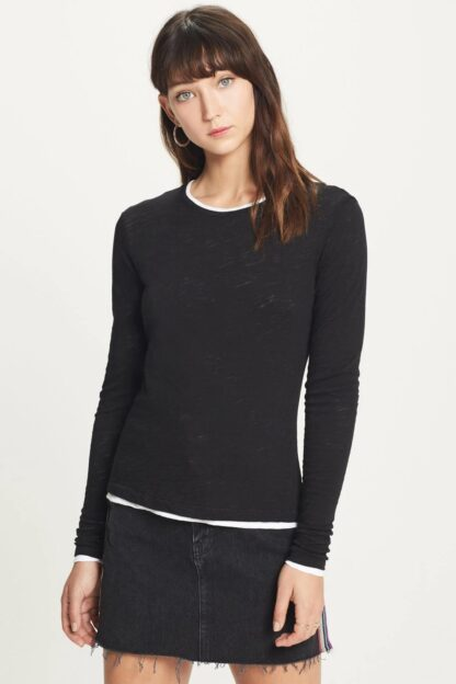 Long Sleeve Double Layer Tee by Goldie