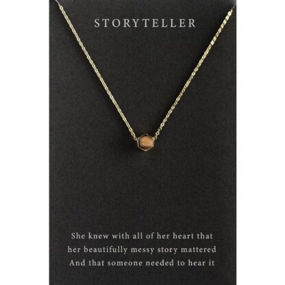 The Story Teller Nacklace by Dear Heart
