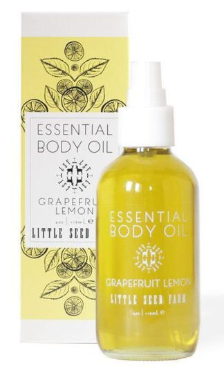 Grapefruit Lemon Essential Body Oil Little Seed Farm