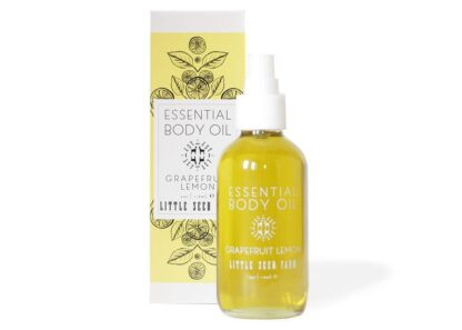 Grapefruit Lemon Essential Body Oil Little Seed Farm