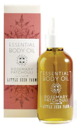 Rosemary Patchouli Essential Body Oil Little Seed Farm