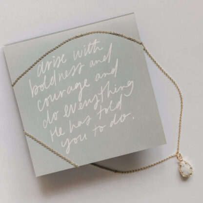 Mary's Call Necklace by Dear Heart.