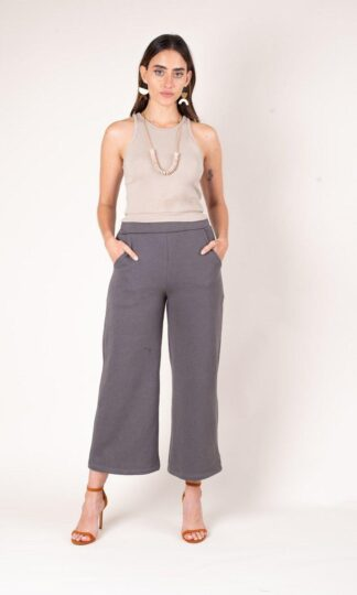 Jorani Warm Grey Sweatshirt Pant, Zero-Waste, Ethical Fashion, Sustainable Fashion, Woman Owned