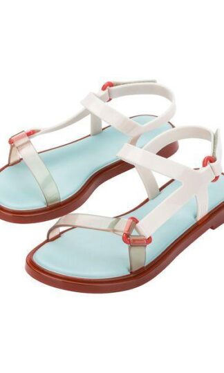 Melissa Fresh Sandal Rded and clear