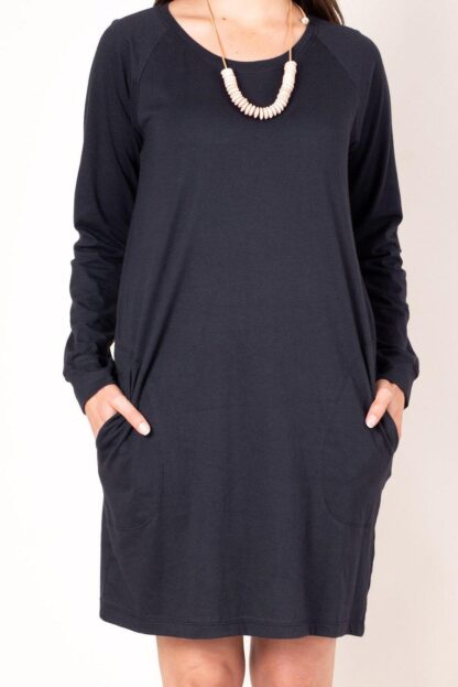 The Kehema Dress Tonle' in Black