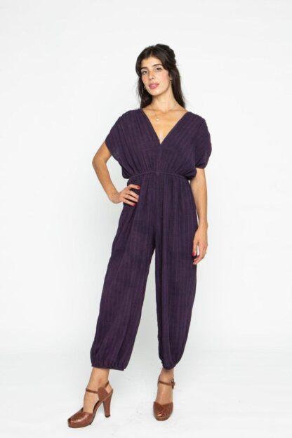The Genie Jumpsuit The Harem Jumpsuit Cameo Clothing Purple