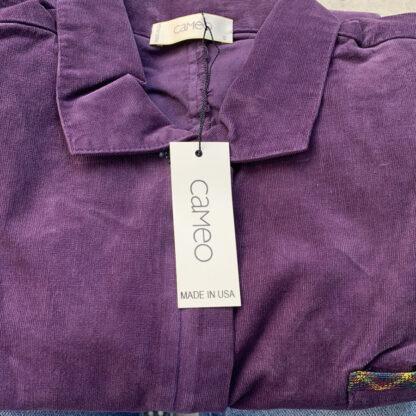 Cord Union Shortalls Cameo Clothing Line Purple