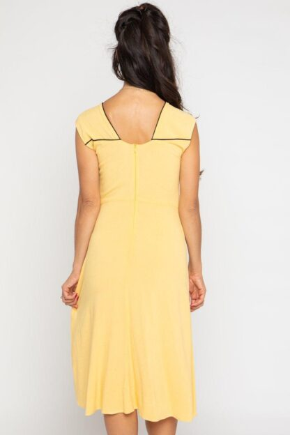 Wanda Dress by Cameo Clothing in Sun, Ethically Made